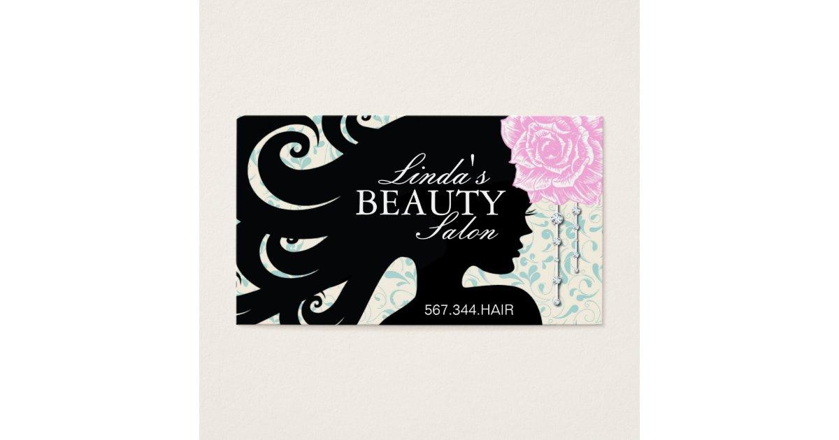 Victorian Salon Business Cards & Templates | Zazzle