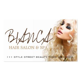 Hair Salon Spa Stylist Beauty Cosmetology Card Business Card Template