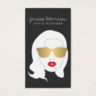 Hair Salon, Style Blogger, Beauty Girl III Business Card