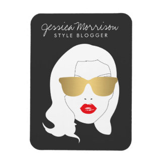 Hair Salon, Style Blogger, Beauty Girl III Magnet