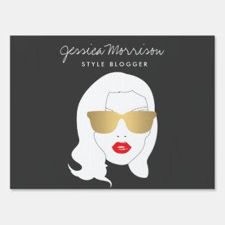 Hair Salon, Style Blogger, Beauty Girl III Sign