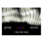 Hair Salon Style Business Cards