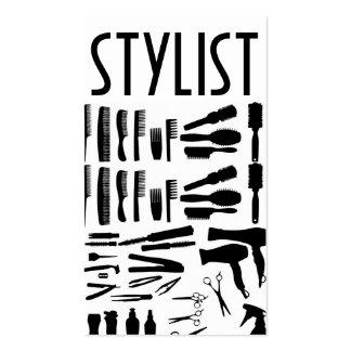 Hair Salon Stylist Barber Shop Beauty Business Business Card Templates