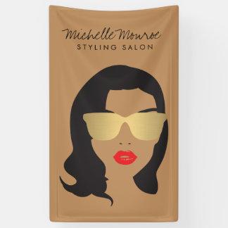 Hair Salon, Stylist, Beauty Girl II Banner