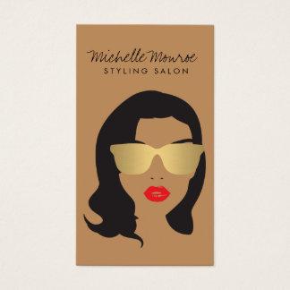 Hair Salon, Stylist, Beauty Girl II Business Card