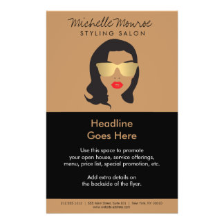 Hair Salon, Stylist, Beauty Girl II Flyer