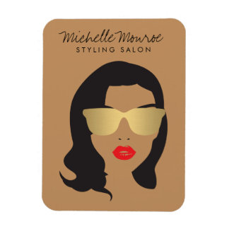 Hair Salon, Stylist, Beauty Girl II Magnet
