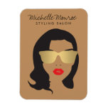 Hair Salon, Stylist, Beauty Girl II Magnet Flexible Magnet