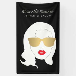 Hair Salon, Stylist, Beauty Girl III Banner