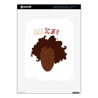 Hair Scare iPad 3 Skin