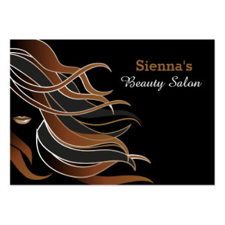Hair stylist appointment card large business cards (Pack of 100)
