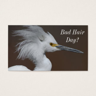 Hair Stylist Barber - Two Sided Bad Hair Day Card