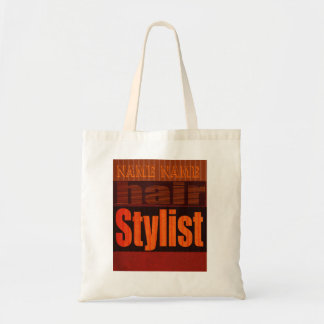 Hair Stylist Beautician Carry All Budget Tote Bag