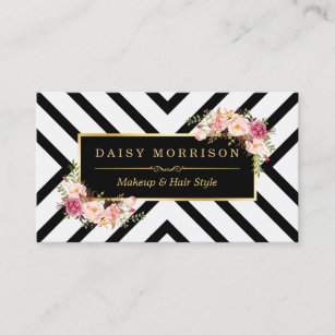 Elegant gold hair salon business card sample hair stylist business hair stylist beauty salon gold vintage floral business card colourmoves