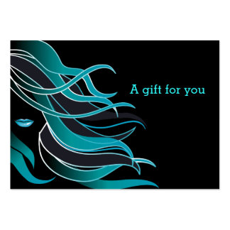 Hair stylist large business cards (Pack of 100)