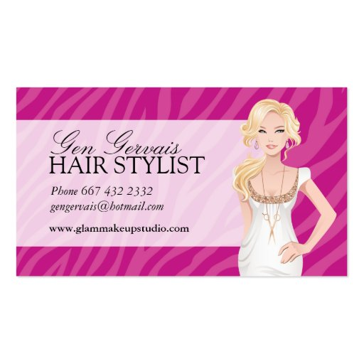 hair styling business cards hair stylist business card zazzle 5820