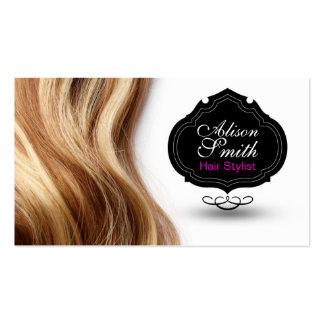 Hair Stylist Business Card Tarjeta De Negocio