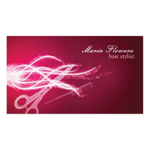Hair stylist business cards zazzle for Business cards hair stylist