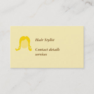 Mobile Hair Stylist Business Cards Zazzle