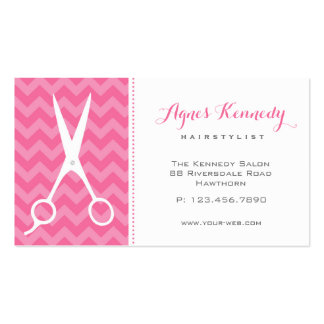 Hair Stylist Business Cards Modern