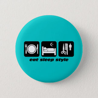 Hair stylist button