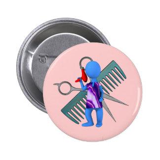 Hair Stylist Pin