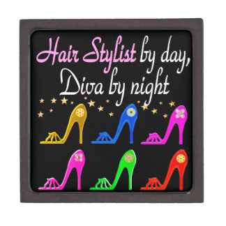 HAIR STYLIST BY DAY DIVA BY NIGHT GIFT BOX