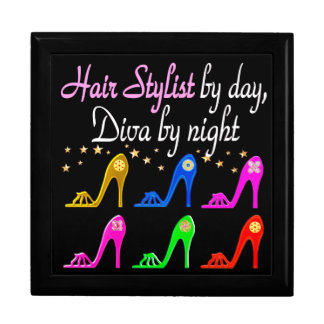 HAIR STYLIST BY DAY DIVA BY NIGHT JEWELRY BOX