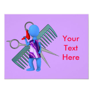 Hair Stylist Card