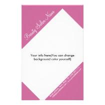 Hair Stylist/Cosmetologist Customizable Price List Flyer