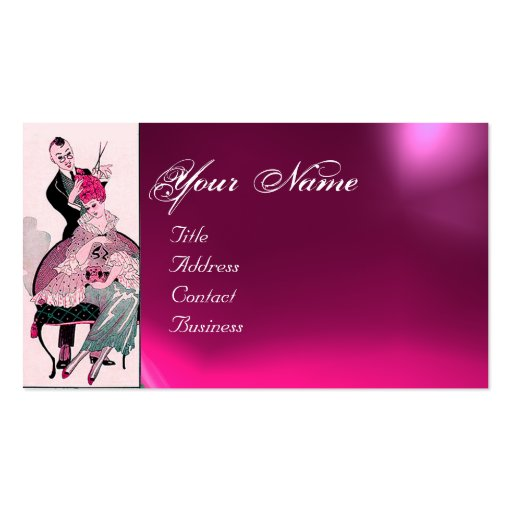 Hair Stylist Fashion Beauty Salon Make Up Artist Double Sided Standard Business Cards Pack Of