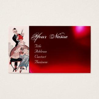 HAIR STYLIST ,FASHION BEAUTY SALON MAKE UP ARTIST BUSINESS CARD