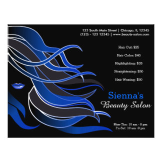 Hair stylist flyer
