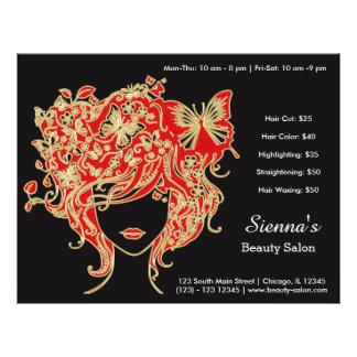 Hair stylist custom flyer