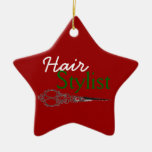Hair Stylist Gift Ornament