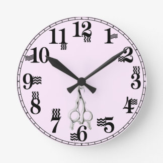 hair stylist gifts round clock