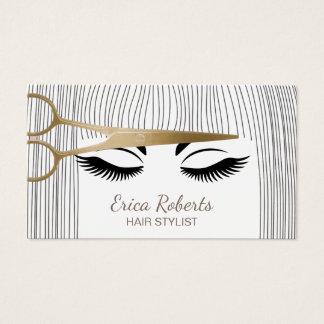 Salon business cards 16000 salon business card templates - Stylistics hair salon ...