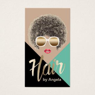 Hair Stylist | Hair Salon | Beauty Girl Modern Business Card