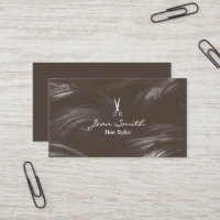 Hair Stylist Hair Salon Hairdresser Business Card