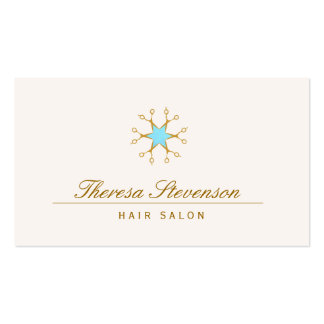 Hair Stylist, Hair Salon, Scissors Logo Double-Sided Standard Business Cards (Pack Of 100)
