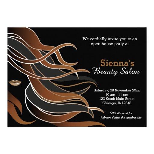 Hair Stylist Invites