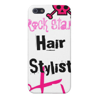 Hair Stylist IPhone Case Rock Star Pink Cover For iPhone 5