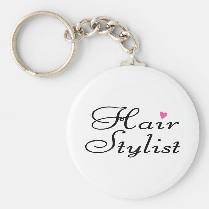 Hair Stylist Keychain