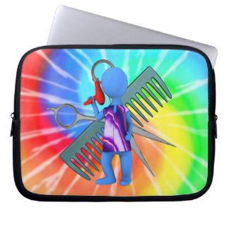 Hair Stylist Laptop Sleeve