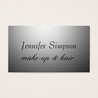Hair Stylist Makeup Artist Professional Business Card