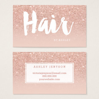 Hairstylist Business Cards & Templates | Zazzle