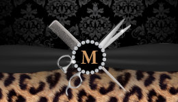 Leopard print business cards for cheap images card design and card leopard business cards 1800 leopard business card templates hair stylist monogram modern leopard print business card colourmoves Image collections
