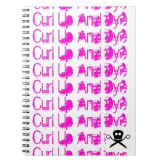 Hair Stylist Notebook Curl Up and Dye
