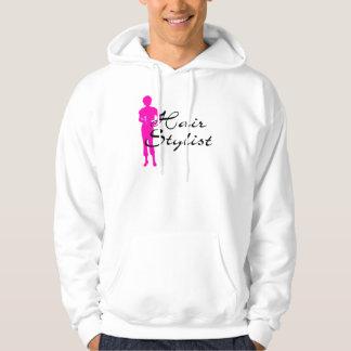 Hair Stylist (Pink) Hoodie
