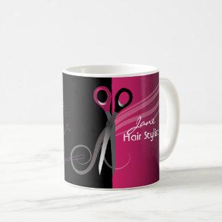 Hair stylist pink mug